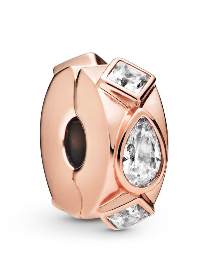 Pandora Clip-Charm -Geometrische Formen- 788429C01, Rosé