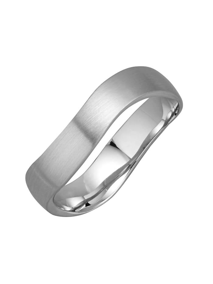 Harmony Förlovningsring av platina 950, Silverfärgad