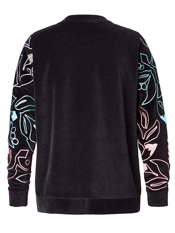 Sweatshirt Aus Samt