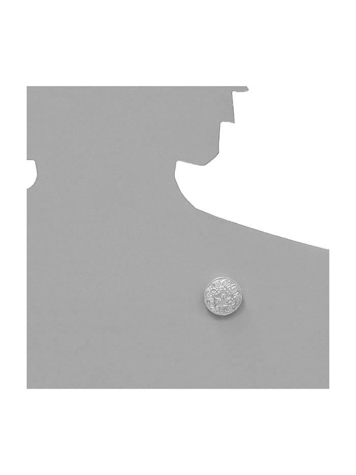 Brosche - Hiddensee 26 mm rund - Silber 925/000 - ,