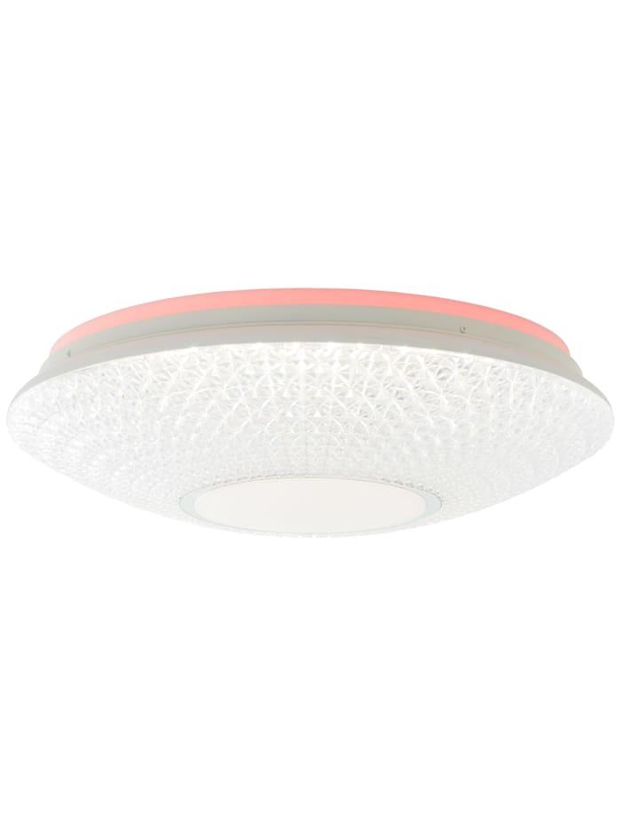 Lucian LED Deckenleuchte 50cm weiß
