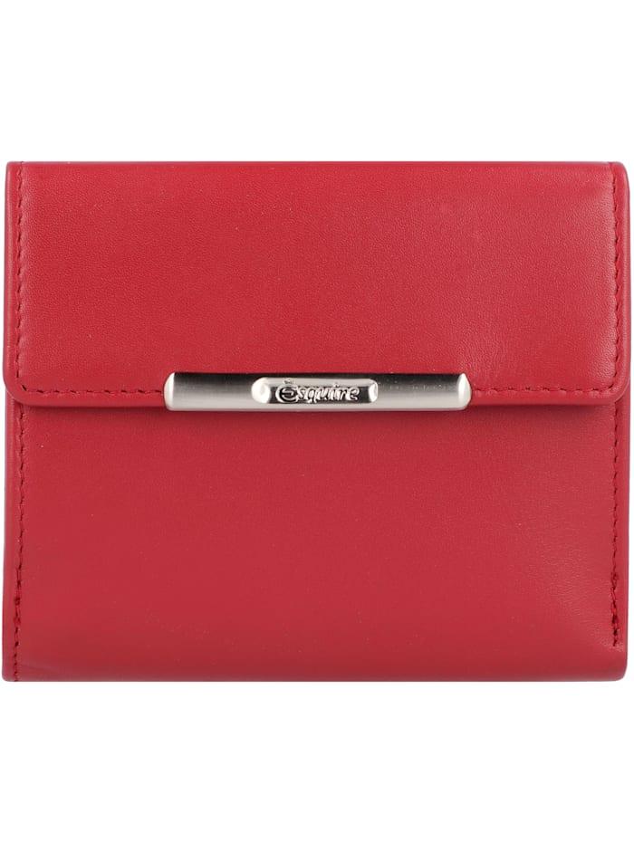 Esquire Helena Geldbörse RFID Leder 10,5 cm, rot