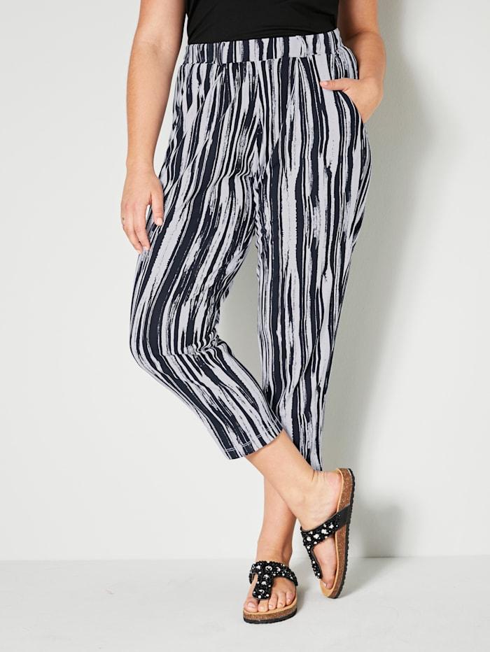 Angel of Style Jerseyhousut, Musta/Valkoinen