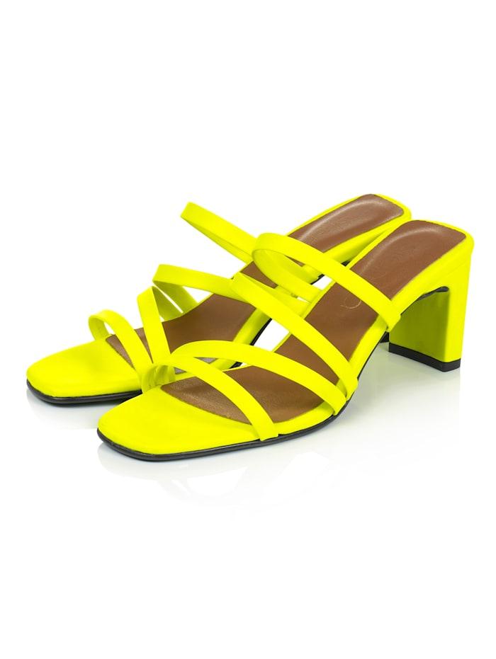 SIENNA Sandalette, Gelb