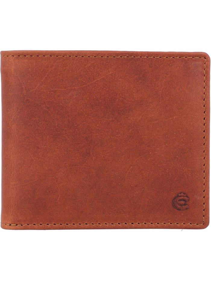 Esquire Dallas Geldbörse Leder 10 cm, braun