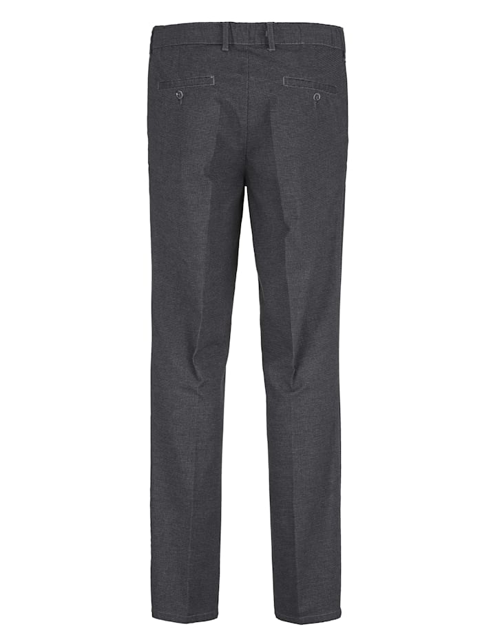 Pantalon d'aspect laine dans une matière douce et confortable