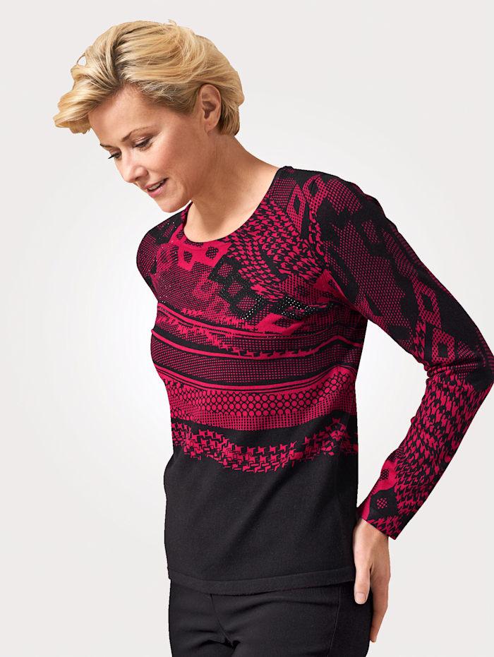 Pullover mit grafischem Druck