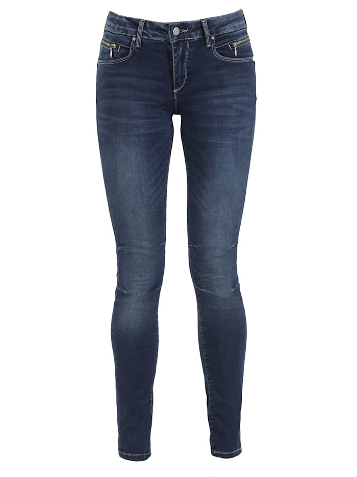Miracle of Denim Skinny Fit Jeans, blue
