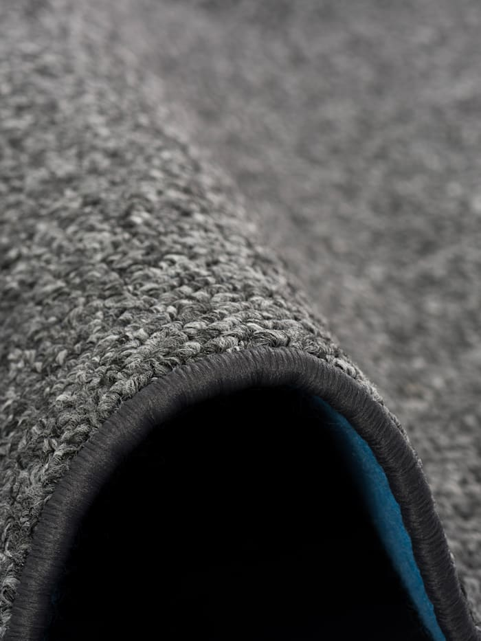 Luxus Woll-Optik Berber Juna Meliert Rund