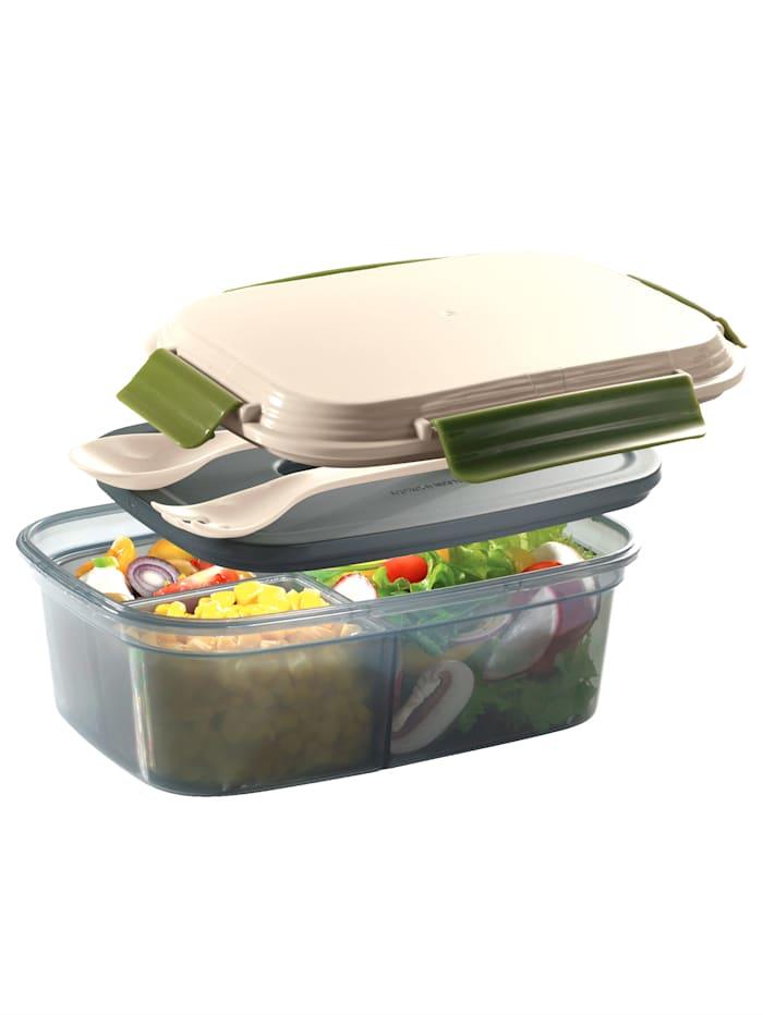 Cilio Lunchbox COOL, beige/groen