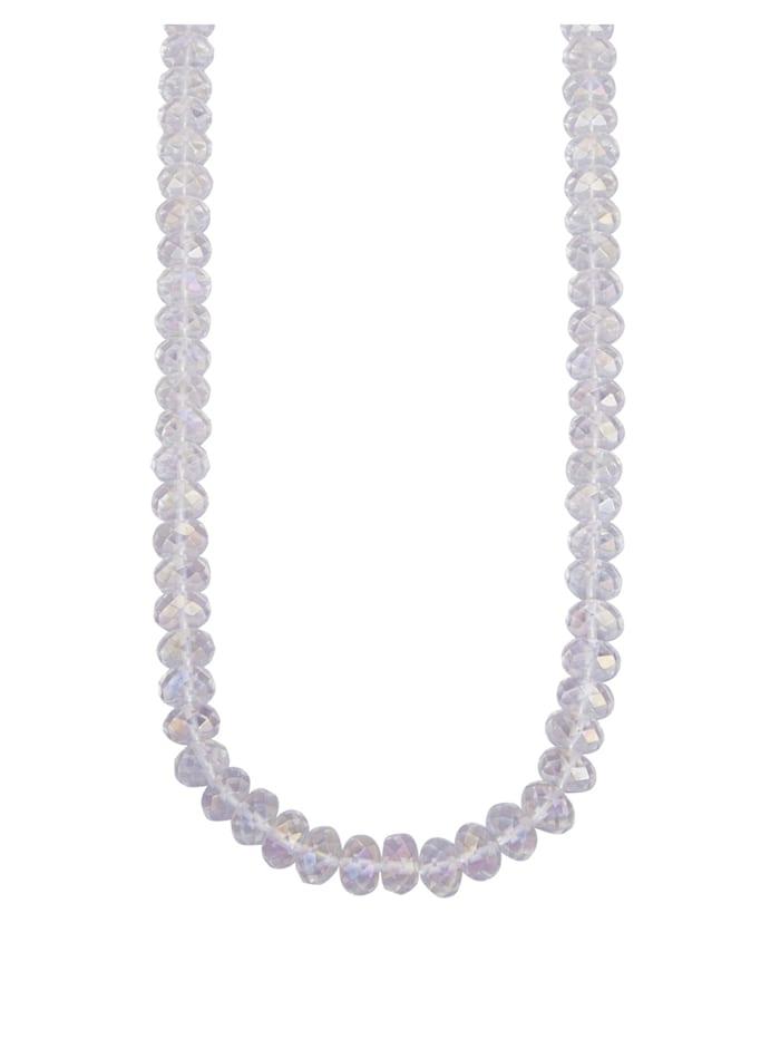 Halskette aus Bergkristallen, Multicolor