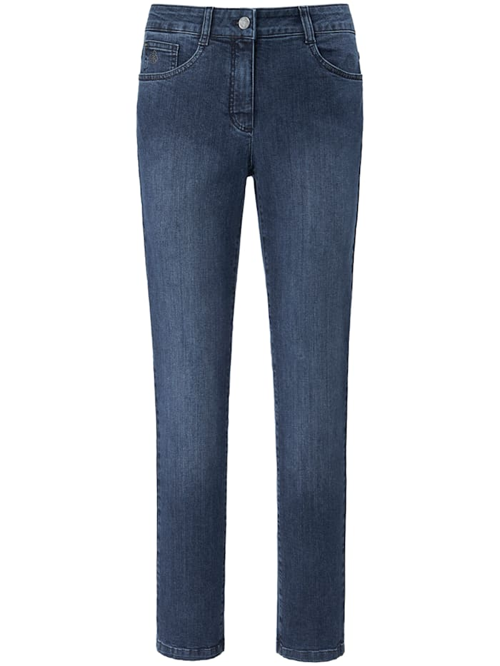 Basler Jeans NORMA im 5-Pocket-Stil, blue denim