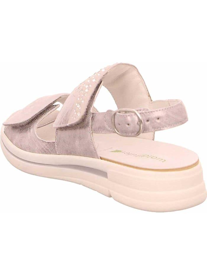 Damen Sandale in grau