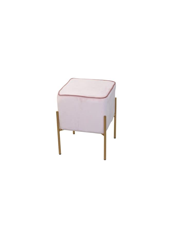 Möbel-Direkt-Online Sitzpouf Dany, rosa