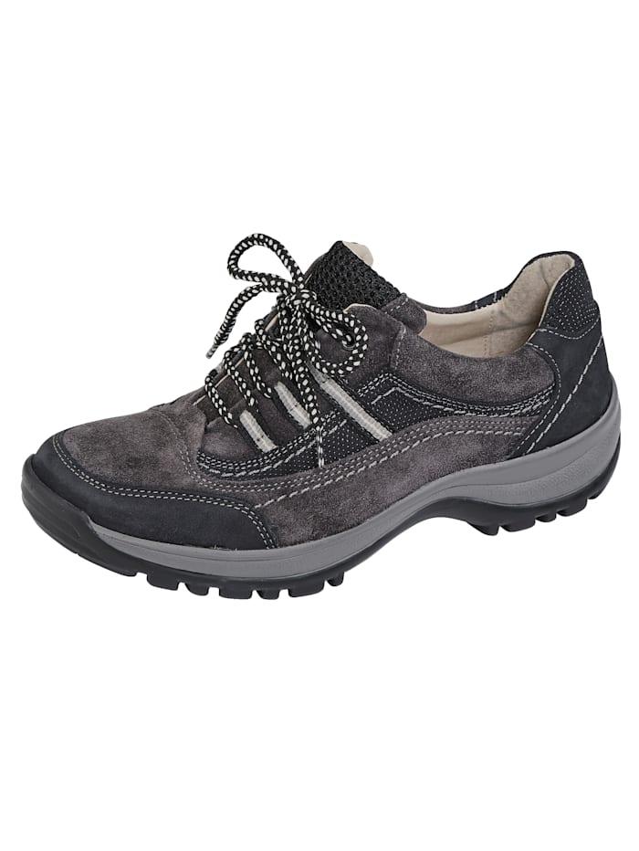 Naturläufer Chaussures de trekking en cuir haut de gamme, Gris