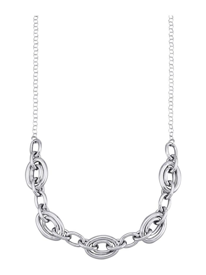 AMY VERMONT Collier aus Silber, Silberfarben