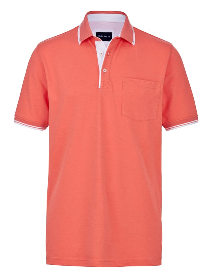 BABISTA Poloshirt met borstzak, Oranje
