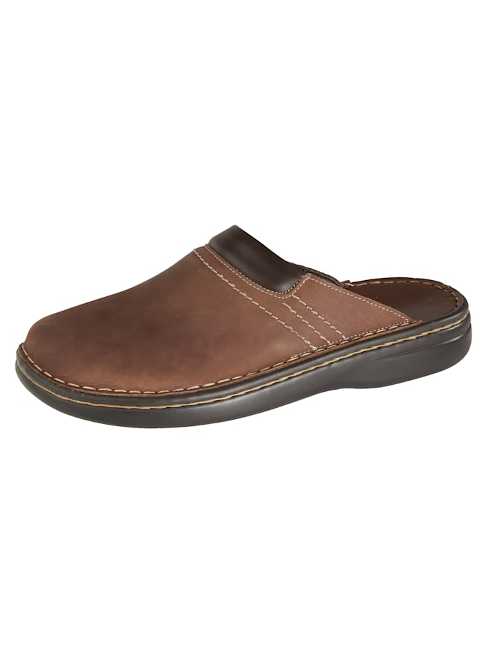 Roger Kent Mules au style intemporel, Marron
