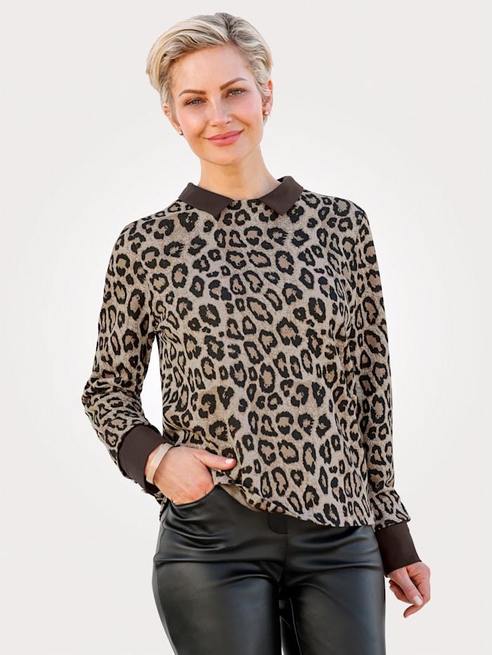 Sweatshirt in raffinierter 2in1-Optik
