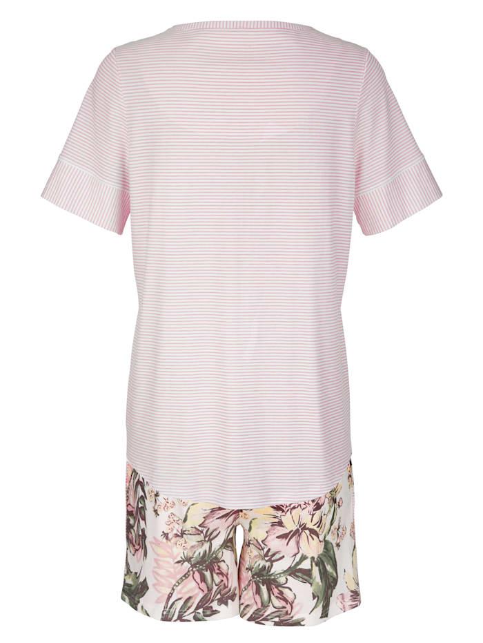Pyjashort à imprimé mode