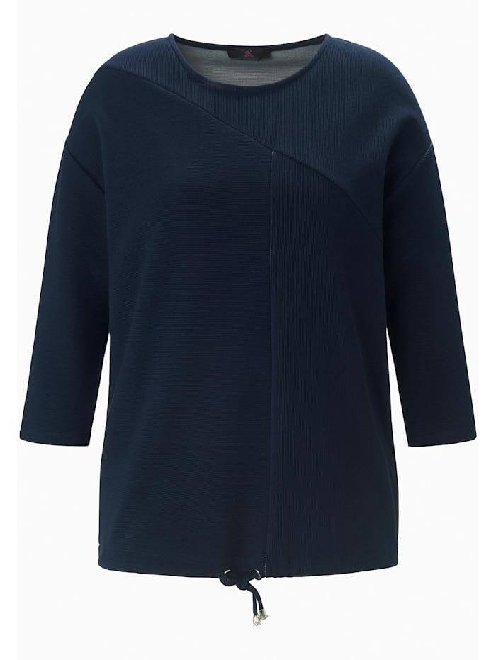 Emilia Lay Sweatshirt mit 3/4-Arm, marine