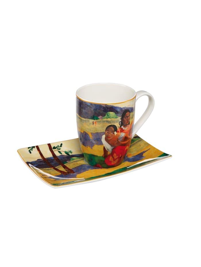 Goebel Goebel Künstlertasse Paul Gauguin - Wann heiratest Du?, Gauguin - Hochzeit