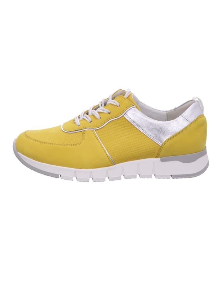 Damen Schnürschuh in gelb