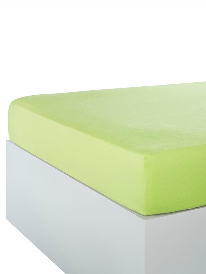 Kinzler Strekklaken mikrofiber fleece, grønn