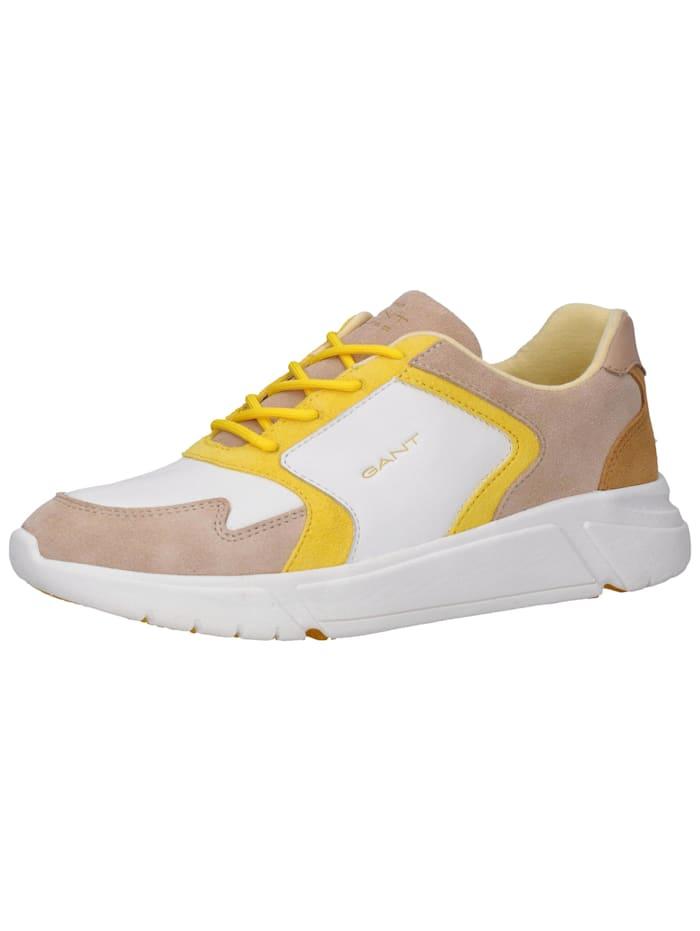 GANT GANT Sneaker, Weiß/Gelb