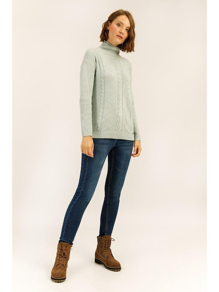 Jeans mit dezenter Used-Waschung