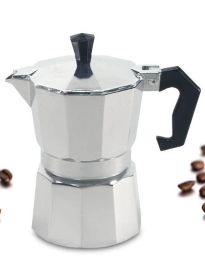 Krüger Espressokocher 9 Tassen, Alu