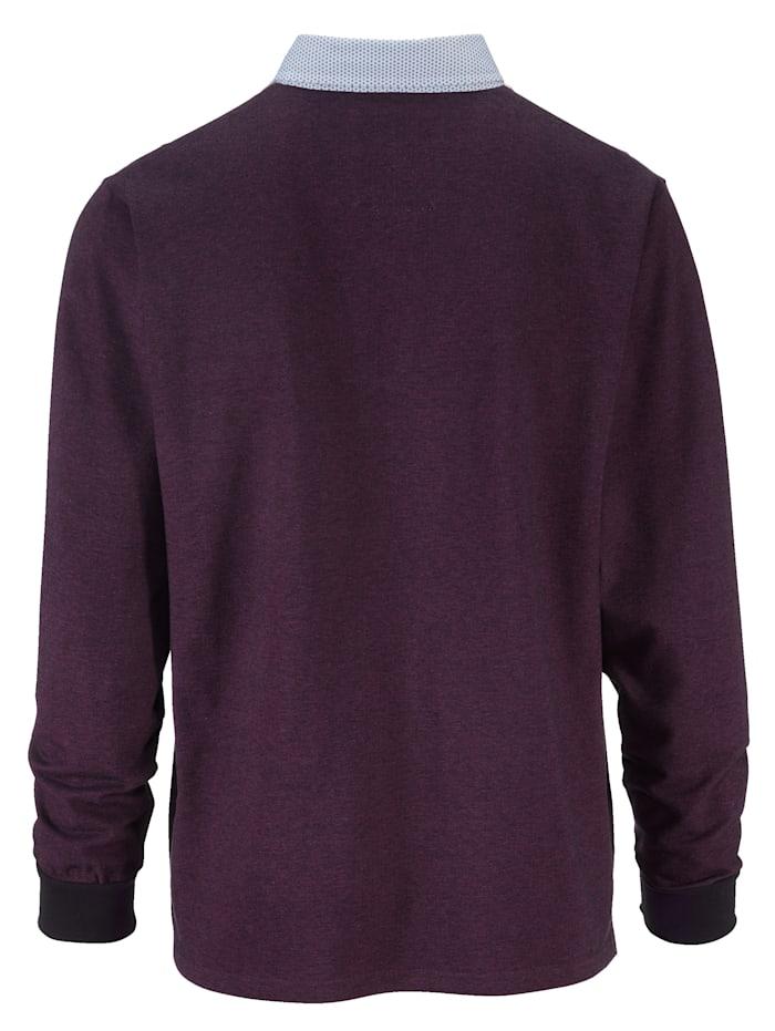 Tričko v dvojfarebnom vzhľade