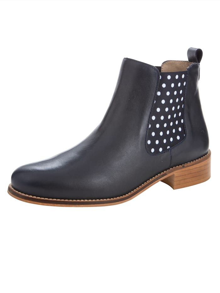 Chelsea Boots in an on-trend polka dot design