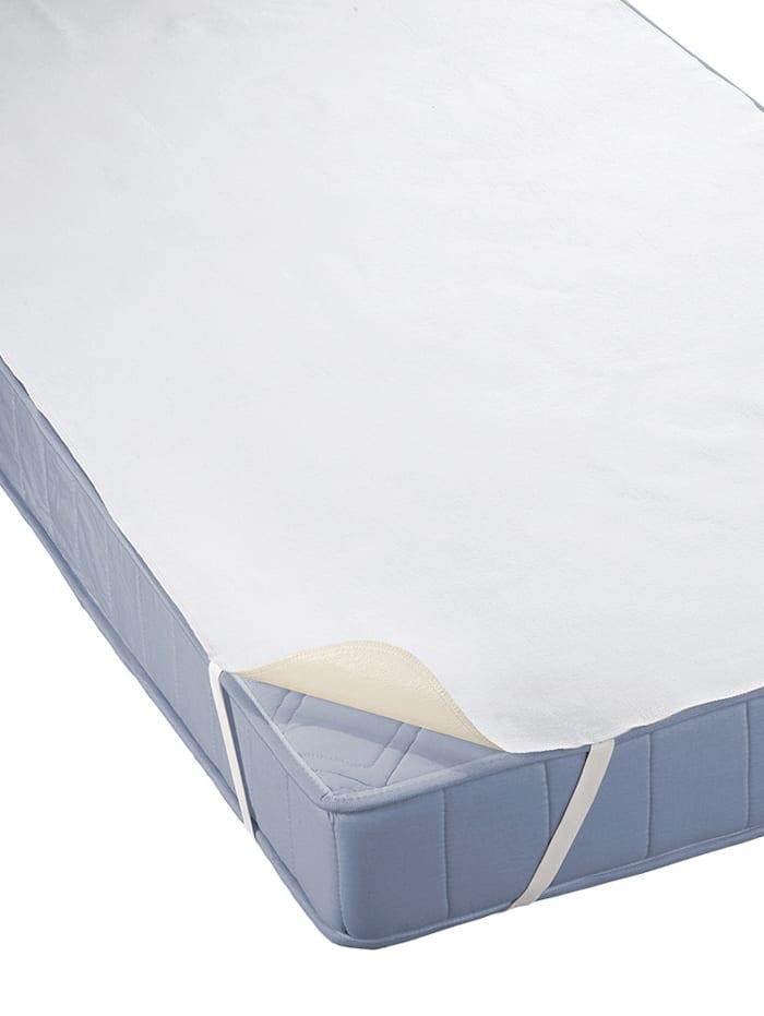 Biberna Matrasbeschermer 'Sleep & Protect', wit