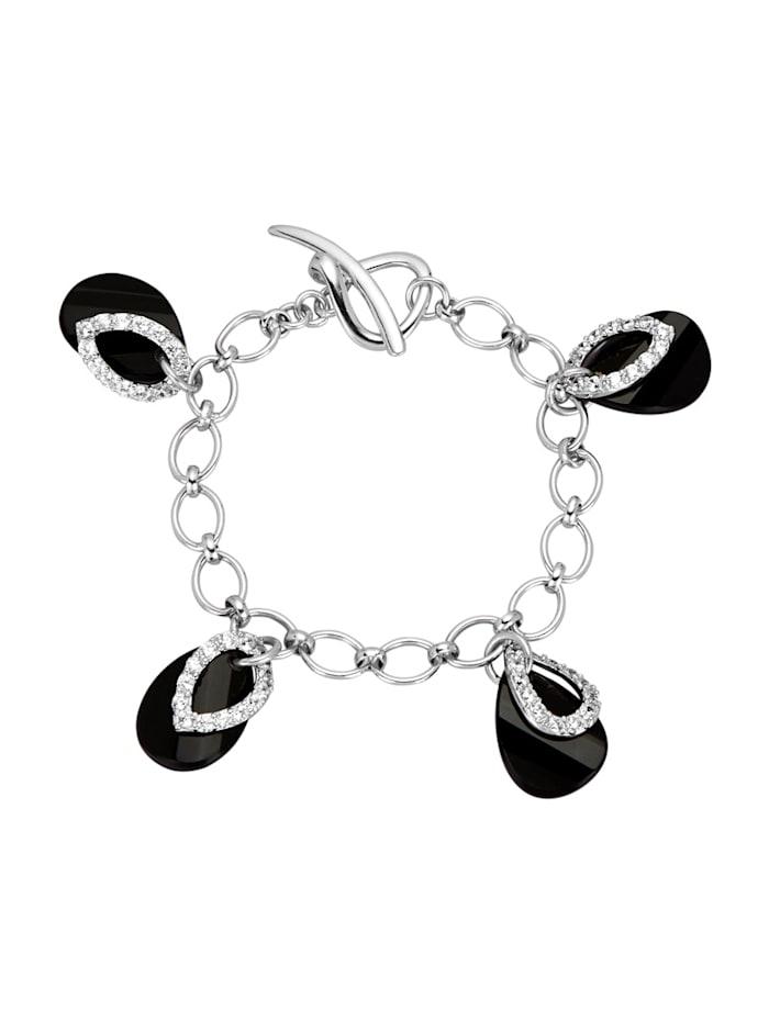 AMY VERMONT Armband, Zwart