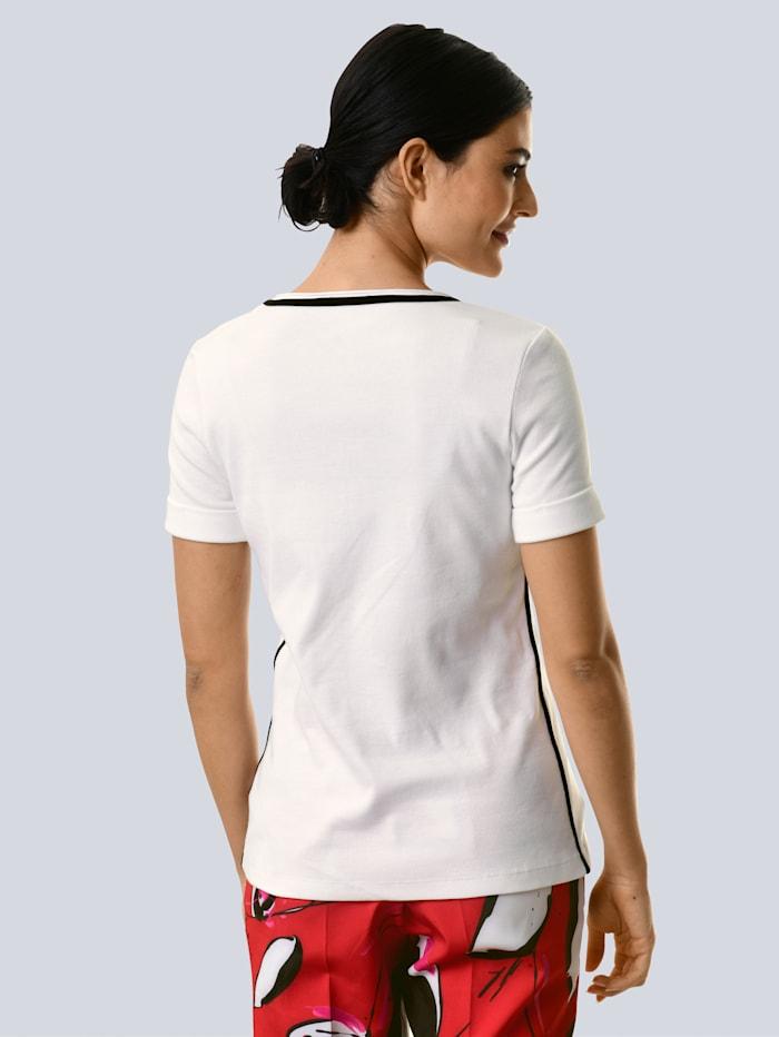 Shirt mit Motiv vorne