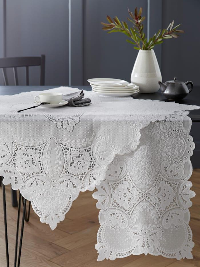 Webschatz Tischwäsche 'Ava', weiß