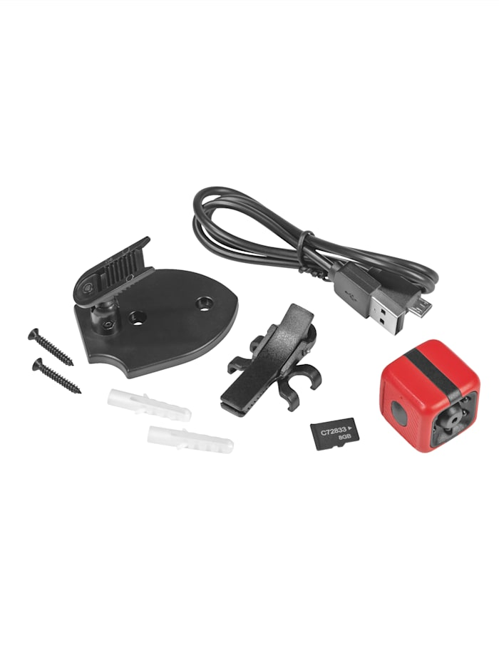 EASYmaxx Mini-Videokamera, Rot