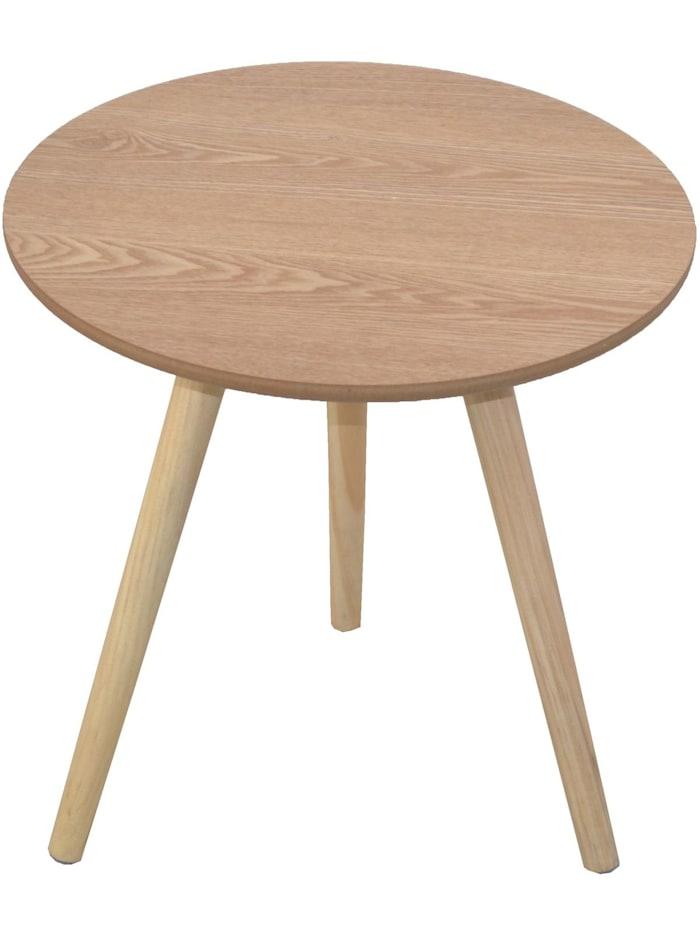 Möbel-Direkt-Online Beistelltisch Wanda, braun