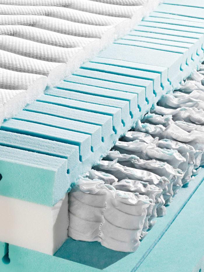 Tonnentaschenfederkern  Matratze 'Medicare T'  7-Zonen