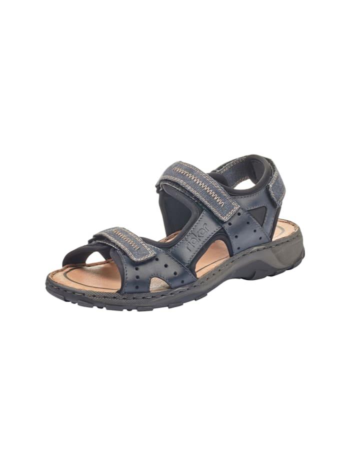 Rieker Sandale, blau