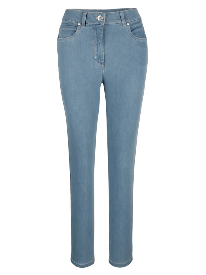 MONA Jeans made from stretch cotton, Light Blue