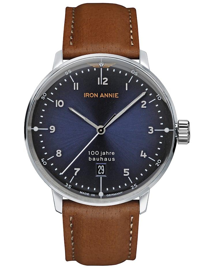 Iron Annie Armbanduhr Bauhaus Quarz 5046, NACHTBLAU