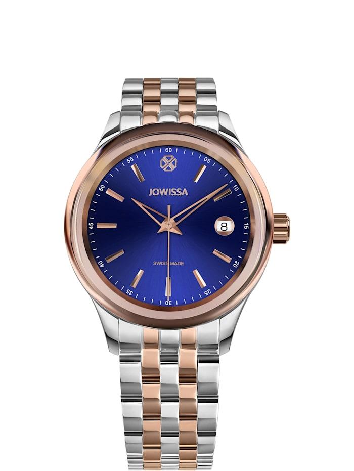 Jowissa Quarzuhr Tiro Swiss Made Watch, blau rosa