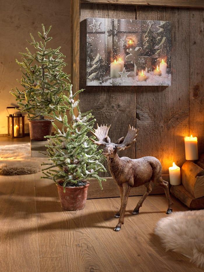 Tableau de Noël à LED