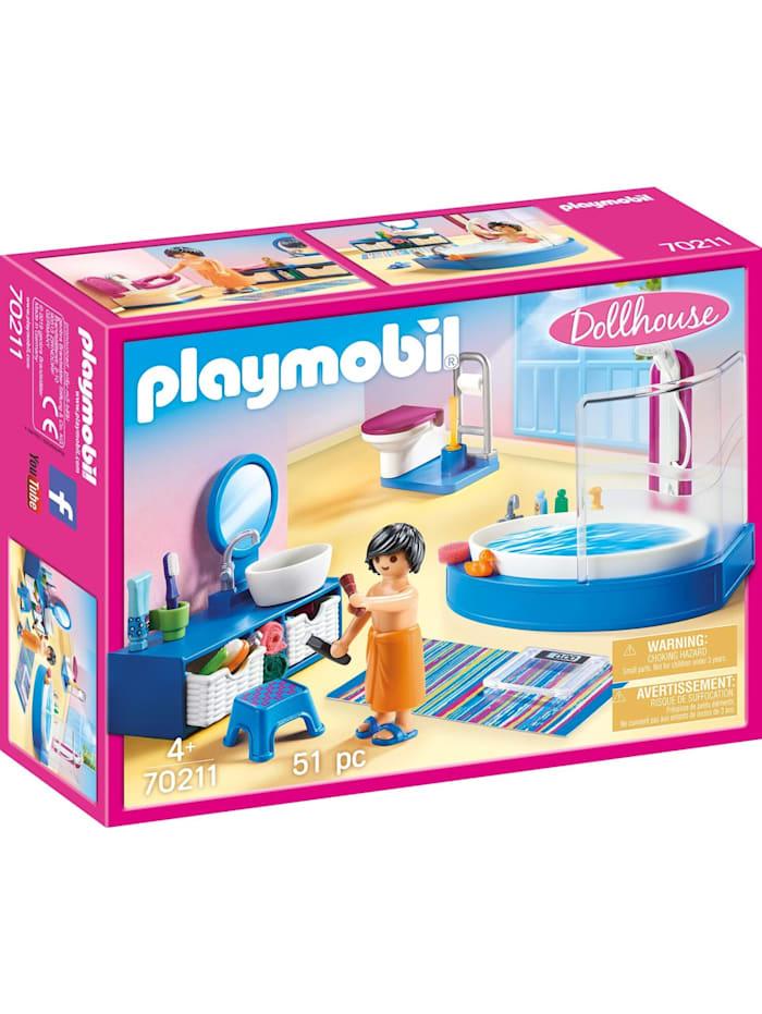 PLAYMOBIL Konstruktionsspielzeug Badezimmer, Bunt