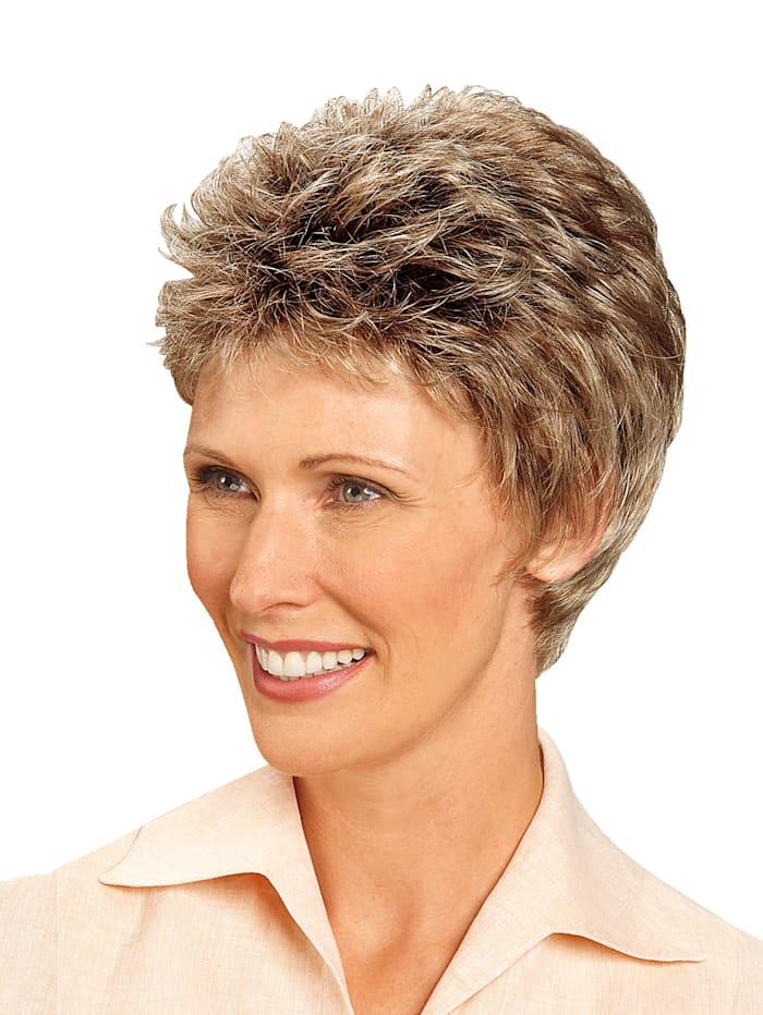 Lofty Pruik 'Anna', Gemengd blond met donkerder aanzet