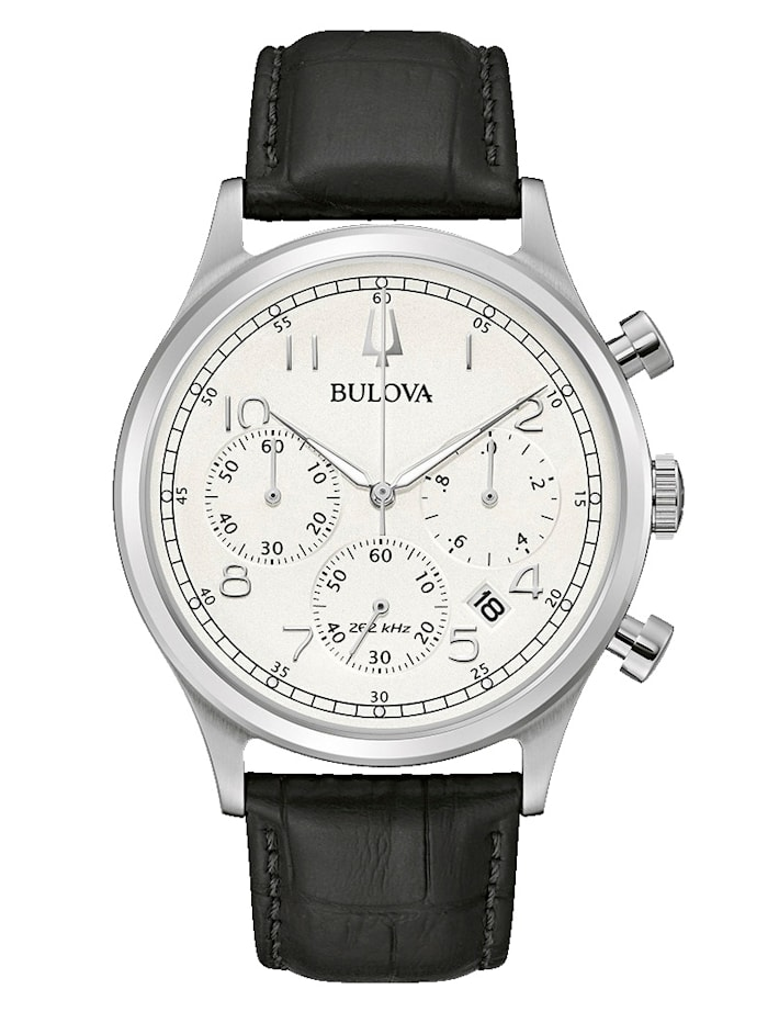 Bulova Herren-Chronograph 96B354, Schwarz
