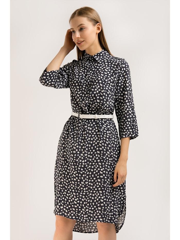 Kleid mit hübschem Alloverprint