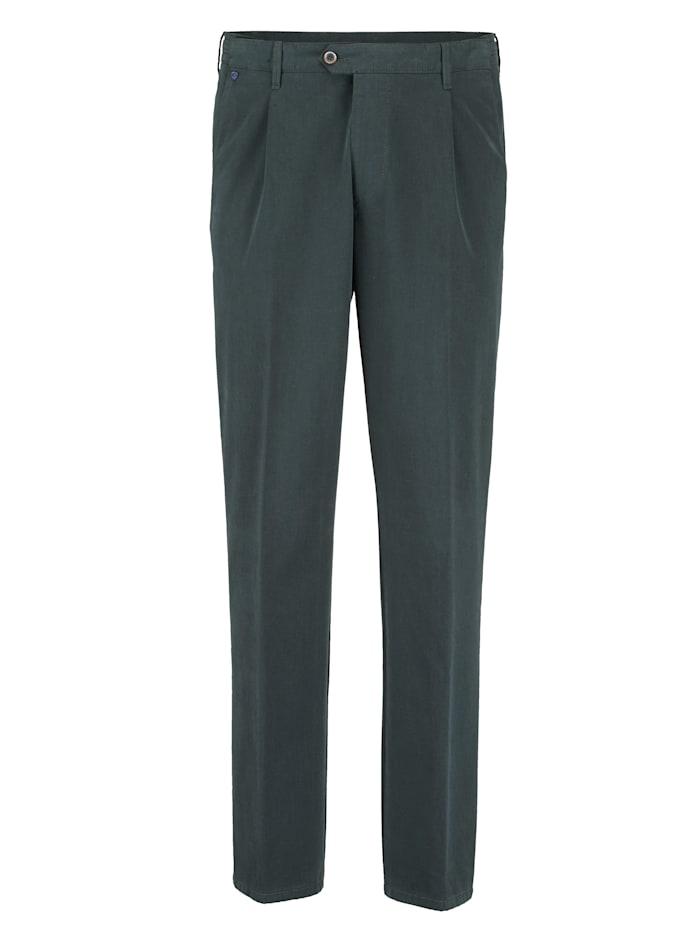 BABISTA Bundfaltenhose mit 7 cm mehr Bundweite, Grün